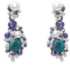 Chow Tai Fook 'Nautical Fantasy' earrings