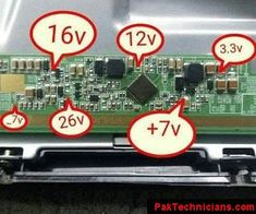 Volt-Details Sony Led, Electronics Basics, Led Board, Electronic Schematics, Tv Panel, Circuit Electronic Circuit Projects, Electronic Engineering, Electronics Basics, Electronics Projects, Sony Led Tv, Tv Led, Basic Electrical Wiring, Crt Tv, Lcd Television