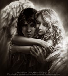 Angels: In the arms of an Angel...