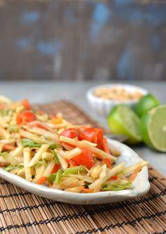 Thai Green Papaya Salad (Vegan Recipe) (scheduled via http://www.tailwindapp.com?utm_source=pinterest&utm_medium=twpin&utm_content=post1141509&utm_campaign=scheduler_attribution)
