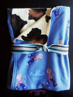 Baby Boy Large 30 x 36 Little Lasso COWBOY KID by BucciAndBubba, $38.00