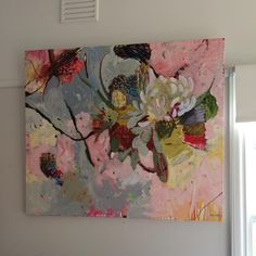 Abstract Flowers, Abstract Art, Cool Paintings, Botanical Art, Flower Art, Amazing Art, Illustration Art, Canvas Art, Pastel