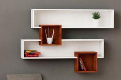 floating shelves with lights Home Decor Shelves, Wall Shelf Decor, Wall Shelves Design, Home Decor Furniture, Diy Home Decor, Furniture Design, Room Decor, Muebles Living, Kitchen Living