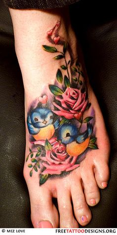 want to cover my current foot tattoo w/ this one!