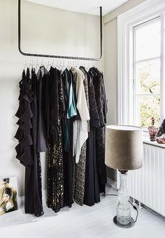 Skræddersy din garderobe af jernrør