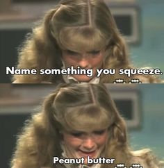The contestant who squeezes peanut butter.