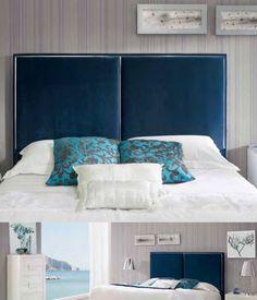 Sengegavl modell ANDREA-LUX💙 Se vårt store utvalg av sengegavler, speil og interiør til ditt hjem i nettbutikken vår✨ www.mirame.no  #sengegavl #soverom #drømsøtt #hodegjerde #speil #norskehjem #seng #sove #interior #interiør #mirame #design #hus #hjem #seng #vakrehjem #norskehjem #headboard #bedroom #sengegavl #hodegjerde #andrea #lux Head Boards, Bed, Furniture, Home Decor, Decoration Home, Bed Headboards, Stream Bed, Room Decor, Home Furnishings