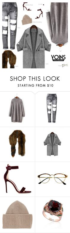 """""""YOINS"""" by amberelb ❤ liked on Polyvore featuring Marni, Gianvito Rossi, Retrò, STELLA McCARTNEY, LE VIAN and yoins"""