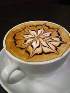 LATTE!!  It's beautiful and I'm sure it tastes just as good.