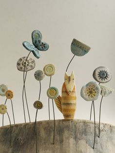 Shirley Vauvelle Mixed Media Artist - I'd love to make something like this as a book end