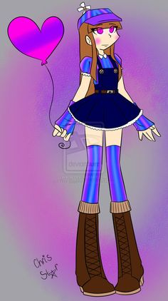 Five Nights At Freddy's Balloon Girl +Humanized+ by Tina-Sapphire on DeviantArt