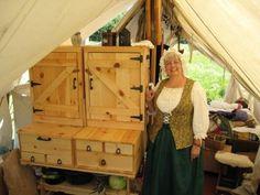 period camp kitchen