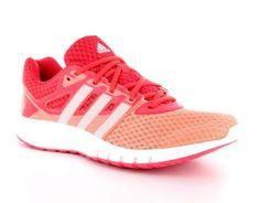 Adidas – Galaxy 2 Womens – Dames #Hardloopschoenen - Een opvallende lichtgewicht #adidas #hardloopschoen van mesh voor dames. Het mesh zorgt voor een goede ventilatie rond de voet. De schoen zit comfortabel door een gewatteerde enkelkraag en is voorzien van een adiPRENE + tussenzool. Dit dempt de impact en zorgt voor een zachtere landing tijdens het hardlopen. #dameshardloopschoen #dameshardloopschoenen