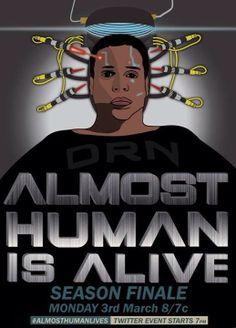 Almost Human season finale poster 3/1/14