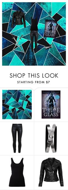 """""""Throne of glass"""" by lunalunartix ❤ liked on Polyvore featuring Balenciaga, Banana Republic, Theory and VIPARO"""
