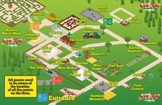 Image result for farm attraction map Pig Fence, Farm Layout, Tourist Map, Sand Pit, Attraction, Tours, Image, Litter Box, Sandbox