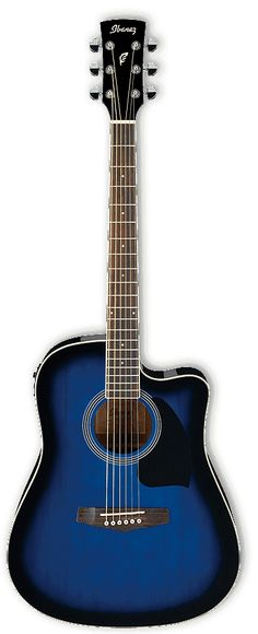 2015 Ibanez Performance Series PF15ECE Cutaway Dreadnought Acoustic-Electric Guitar