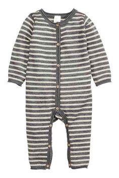 Tuta in maglia fine di lana Vestiti Per Neonati 4d808bf3f19