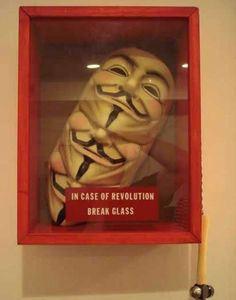 Funny pictures about In case of Revolution. Oh, and cool pics about In case of Revolution. Also, In case of Revolution photos. V Pour Vendetta, V For Vendetta Mask, Street Marketing, Guerilla Marketing, Guy Fawkes, Vida Real, The 5th Of November, Happy November, Radiohead