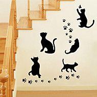 Tiere+Cartoon+Design+Romantik+Mode+Formen+Wand-Sticker+Flugzeug-Wand+Sticker+Dekorative+Wand+Sticker,Vinyl+Haus+Dekoration+Wandtattoo+For++–+EUR+€+5.30