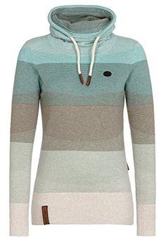Naketano Female Knit Sweater Schmierao III Light Beige Melange Striped, M Naketano http://www.amazon.de/dp/B00VVH9ZZ2/ref=cm_sw_r_pi_dp_Rjzawb0DE50BN