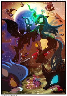 mlp Art & Music,my little pony,Мой маленький пони,фэндомы,Queen Chrysalis,Королева Крисалис,minor,King Sombra,changeling,Чейнджлинги,Nightmare Moon,Rarity,Рэрити,mane 6,Rainbow Dash,Рэйнбоу Дэш,Twilight Sparkle,Твайлайт Спаркл,Pinkie Pie,Пинки Пай,Applejack,Эпплджек,Fluttershy,Флаттершай,Tirek