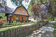 Original brick Victorian home formerly on an apple orchard from 1890. This barn house will melt your heart with a wraparound porch and a picket fence. Main home includes 3 bed/1.5 bath.Studio apartment in the backyard with additional bath. Beautiful original planked wood ceilings, fully ...