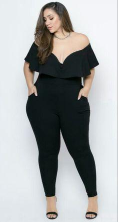 Plus Size Looks, Look Plus, Curvy Plus Size, Plus Size Girls, Plus Size Women, Curvy Girl Outfits, Plus Size Outfits, Cute Outfits, Curvy Women Fashion