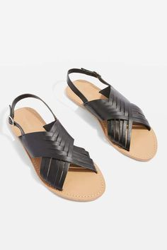 7f6cc4b902ba93 Hottie Cross Strap Flat Sandals - Festival Accessories - Bags   Accessories