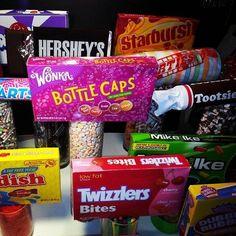 Giant Candy Centerpieces by www.settingthemood.biz