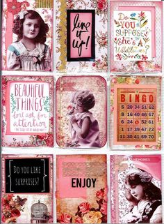 https://flic.kr/p/xQECXw | Vintage Style Pocket Letter-front