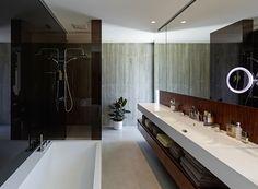 Bathroom6 Summerhouse Transformed Into a Modern Elegant Residence: House A&B in Austria