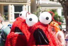 don't be fooled, these muppets were booking it at this year's Bay to Breakers (awesome Coit Tower costume after the jump!)
