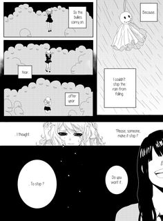 Rainy Days: Chapter 2 - Page 11 by colored-sky on DeviantArt Juvia And Gray, Fairy Tail Juvia, Stop The Rain, Fairy Tail Comics, Make It Stop, Sky View, Gruvia, Manga Artist, Comic Panels