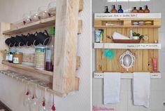 Como decorar com móveis de pallet