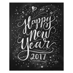 Happy New Year 2017 - Digital Download
