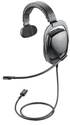 The Plantronics SHR2082-01 ruggedized headsets with noise cancelling microphone is tough enough for the trading floor of the New York Stock Exchange and used by Landing Support Officers on aircraft carriers. http://www.headsetzone.com/shr2082-01.html