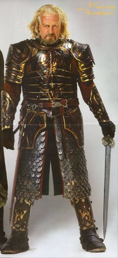 Théoden King of Rohan Armor. Lord of the Rings