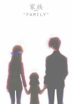 Clannad & Clannad After Story Nagisa with her parents, Akio-San and Sanae-san Anime Chibi, Sad Anime, Anime Life, I Love Anime, Anime Manga, Anime Art, Clannad After Story, Yandere, Vocaloid