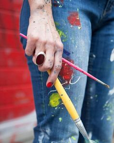 Portrait editorial with an artist Luciana Monin, for Les toiles studio Lausanne, Switzerland photo credits: Jagoda Wisniewska Photo, Photography Projects, Painter, Artist, Portrait Editorial, Portrait