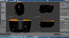 Blender 3D Tutorial_How to smooth a mesh in sculpt mode