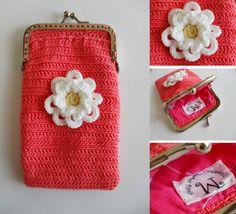 Carteiras em Crochet Primavera/Verão | Maparim