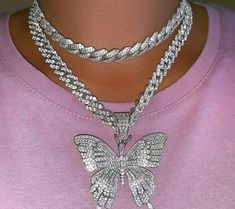 This Content For Yourself If You Enjoy body jewelry Don't Ignore These Pointers Cute Jewelry, Body Jewelry, Jewelry Accessories, Butterfly Jewelry, Butterfly Pendant, Grillz, Pink Tumblr Aesthetic, Grunge Jewelry, Accesorios Casual