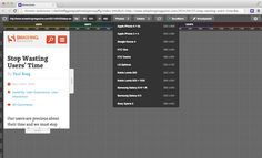 Dimensions Toolkit: A super friendly Chrome Extension for designers to test responsive websites.
