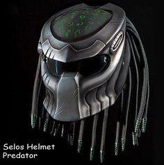 Helmet Predator Street Fighter | AnnaHelmetindonesia -  on ArtFire