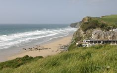 Set on a spectacular surfing beach on the north Cornwall coast, Watergate Bay Hotel is the perfect destination for a luxury family beach holiday. Cornwall Hotels, Cornwall Coast, North Cornwall, Close To Home, Beach Holiday, Great Memories, Surfing, Places To Visit, Adventure