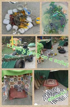 Role play safari in my nursery