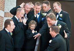 Свадебная фотосессия настоящих мужчин