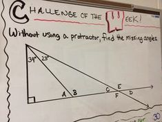 "Challenge of the Week. Lots of visuals and ideas for ""Challenge of the Week"" questions!"