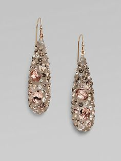 Alexis Bittar - Rose Dust Teardrop Earrings - Saks.com